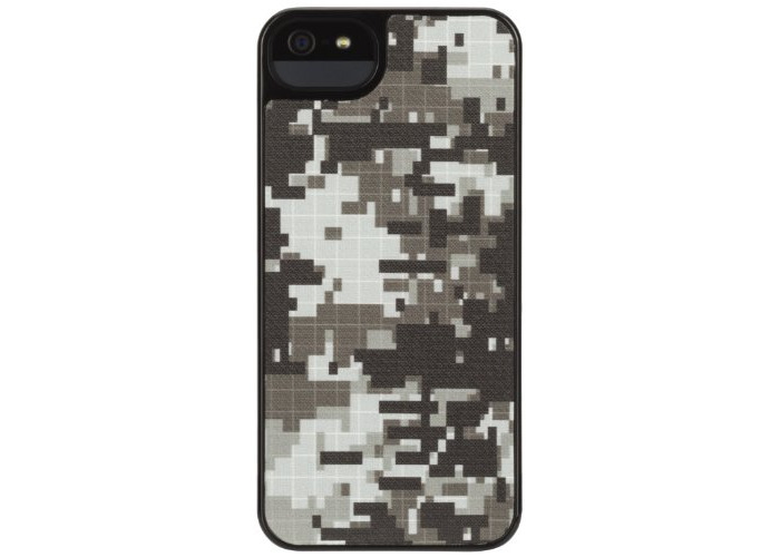 Griffin PixelCrash Form Case for iPhone 5 - Black - 1