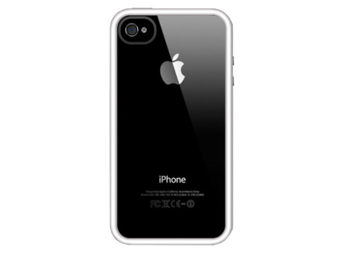 Griffin Reveal Slim Case Cover For iPhone 5s/5- Clear white/white Bumper Case - 1