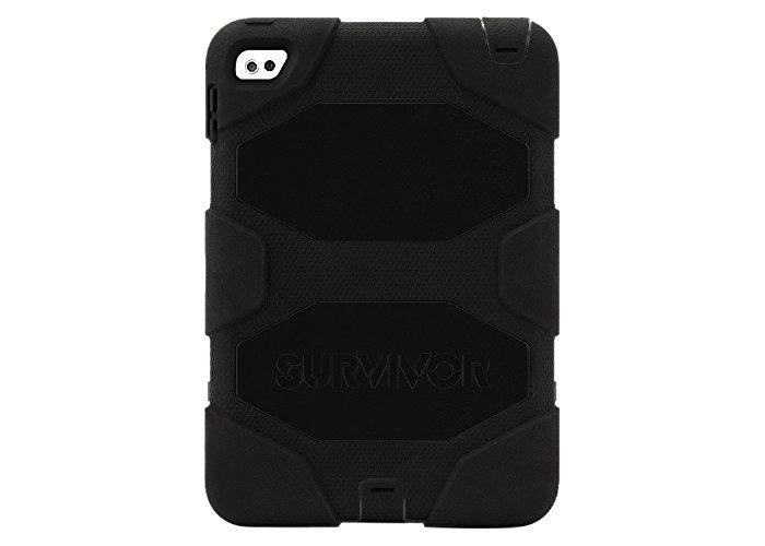 Griffin Survivor All-Terrain Case for iPad Mini 4 - Black - 1