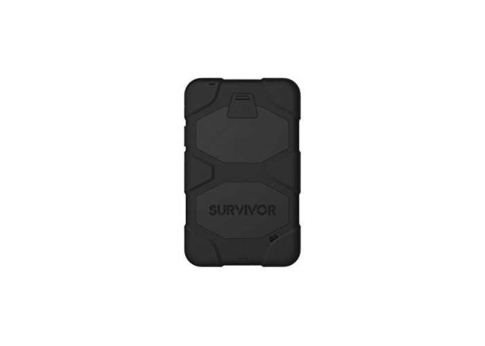 Griffin Survivor Case With Stand for 7 inch Samsung Galaxy Tablet 4 - Black - 1