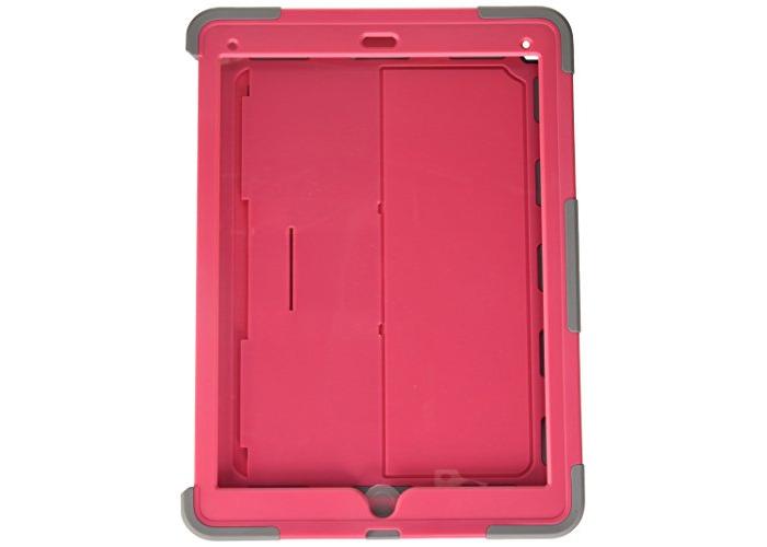 Griffin Survivor Slim Case for iPad Pro - Honeysuckle/Mineral Grey - 1