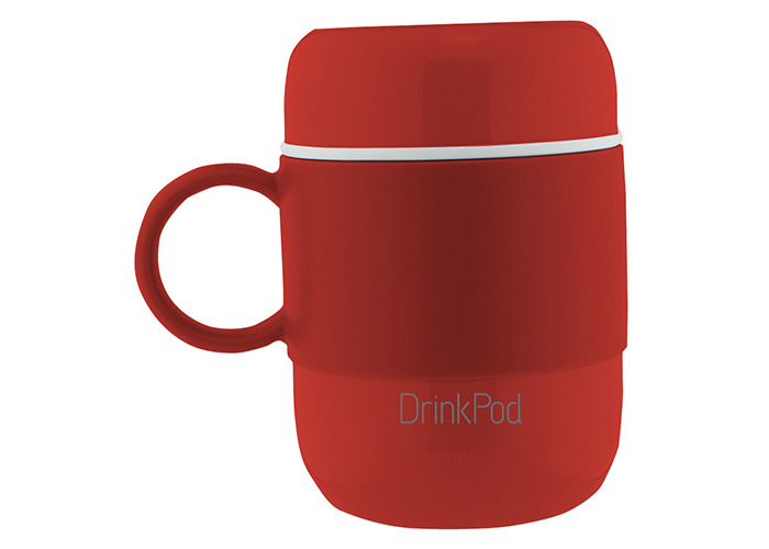 Grunwerg Pioneer Vacuum Mini Mug With Handle Red - 2
