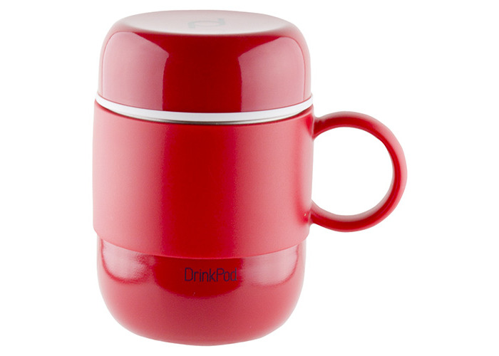Grunwerg Pioneer Vacuum Mini Mug With Handle Red - 1