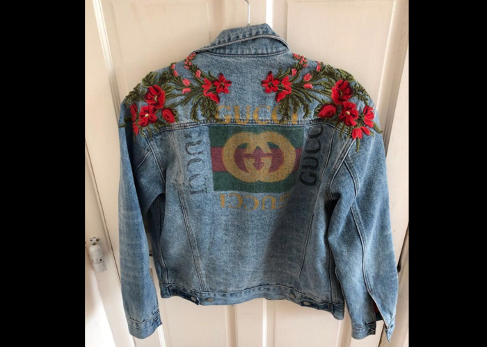 Gucci Denim Jacket (Unisex) - Size 44 (Fits M) - 1