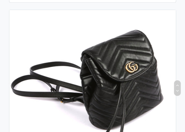 GUCCI GG Marmont leather backpack - 1