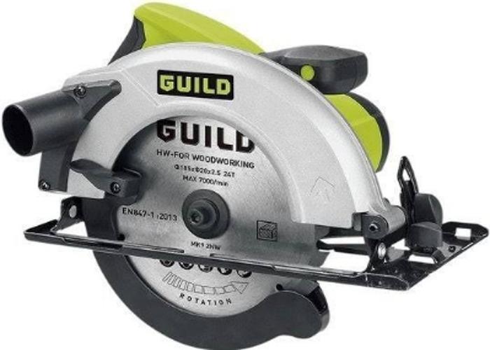 Guild 185mm Circular Saw - 1400W - 1