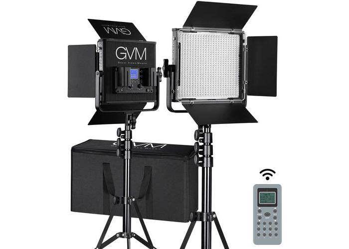GVM 672S-B Bi-Color LED Video 2-Light Kit - 1