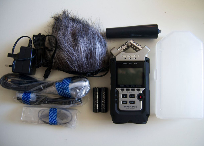 Zoom H4n Pro recorder and accessories - 1