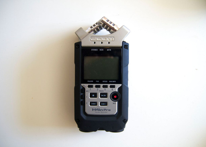 Zoom H4n Pro recorder and accessories - 2