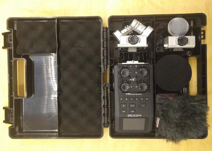 H6 Zoom & NTG2 RODE mic - 1