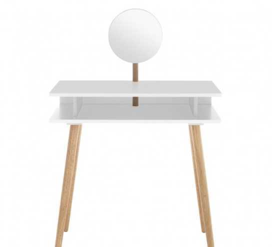 Habitat White Dressing Table with Mirror - 1