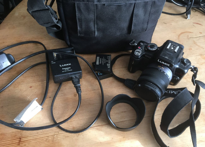 Hacked GH2 camera shooting kit with Time lapse accessory - 1