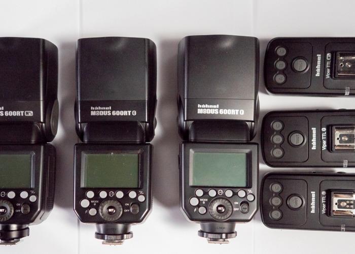 Hahnel Modus 600 Flash Suitable with Canon, Fujifilm, M4/3 - 1