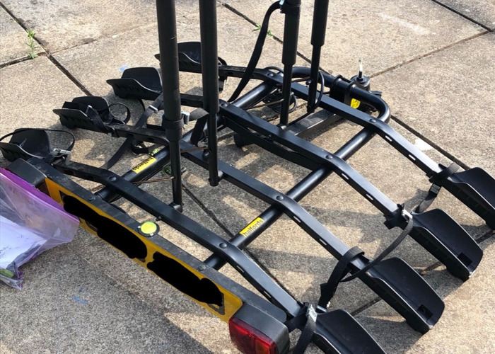 Rent Halfords 4 Bike Tow Bar Cycle Carrier in Earley