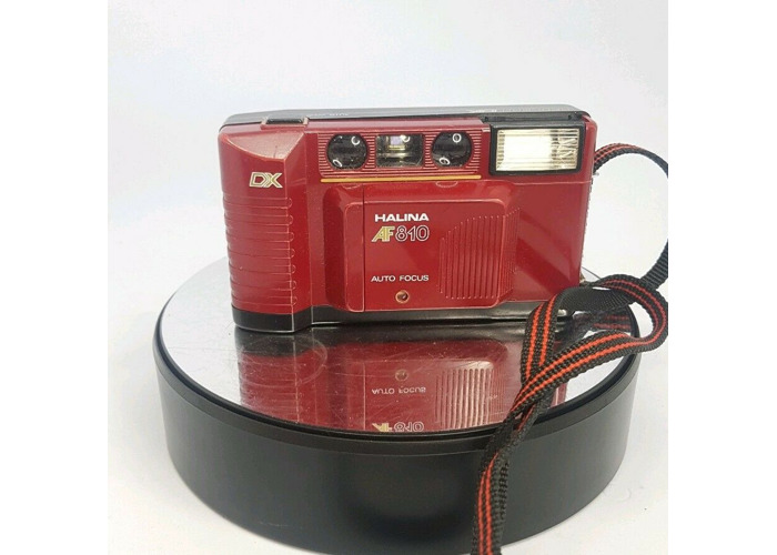 Halina AF810 Vintage 35mm Camera Program DX Auto Focus Point&Shoot Camera418#589 - 1