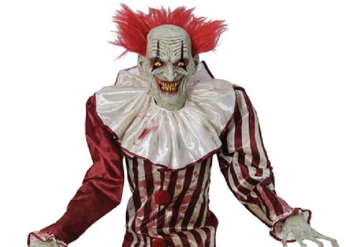 Rent Halloween Party Animated Clown Prop 2 15m 7ft In London Fat