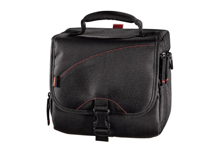 Hama '140 Astana' Equipment Bag for Digital SLR Cameras, Camera Accessories, Tablets & Lenses | Compatible with Sony, Panasonic, Nikon, Kodak, Canon & Many More - Black - 2