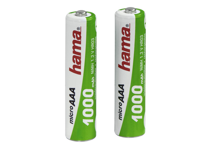 Hama AAA NiMH Battery Pack 2 1.2v/1000mAh - 1