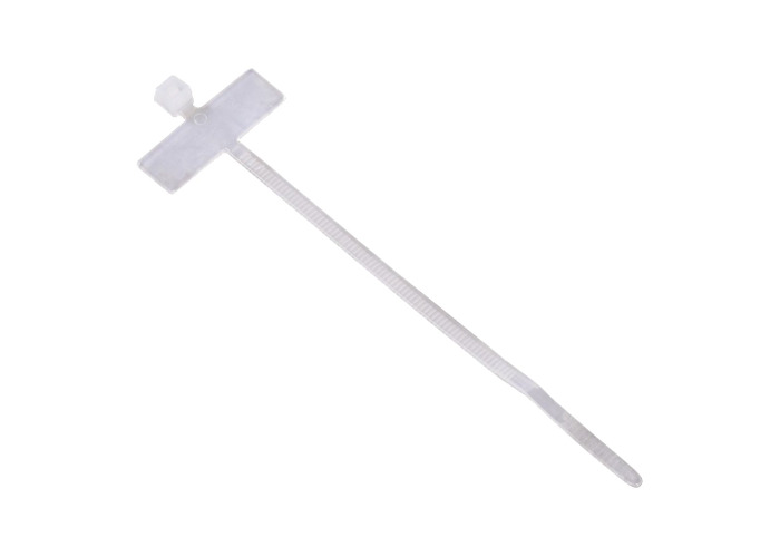 Hama Cable Tie with Label 98mm Pack 25 Clear - 1