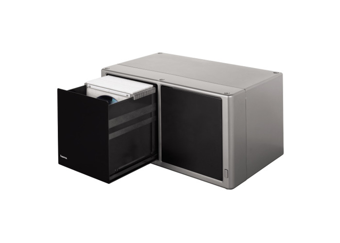 Hama CD Magic Touch Storage Box for 120 Disc Silver - 1