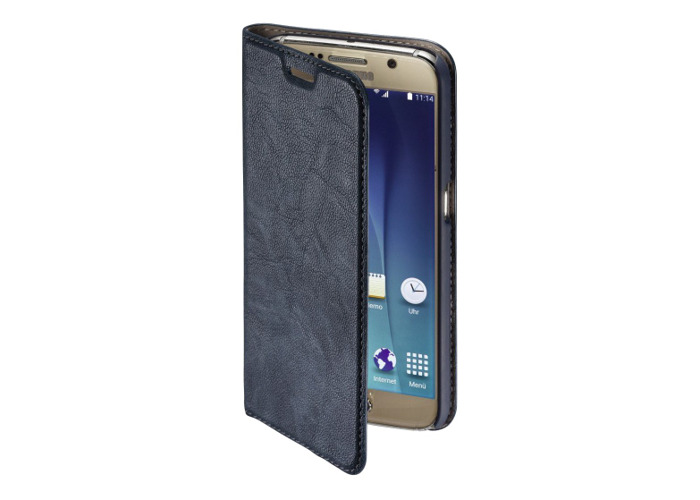 Hama Guard Booklet Case for Samsung Galaxy S7 Blue (EOL) - 1