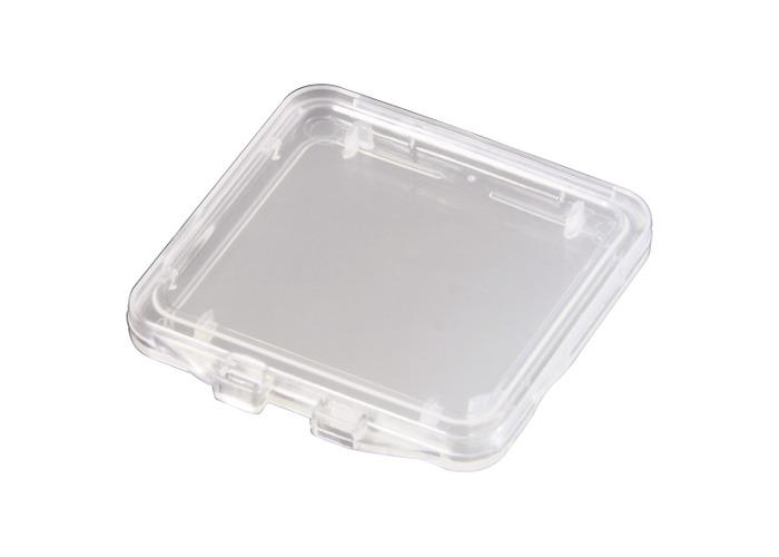 Hama Memory Card Storage Box for 1x SD Card Clear - 1