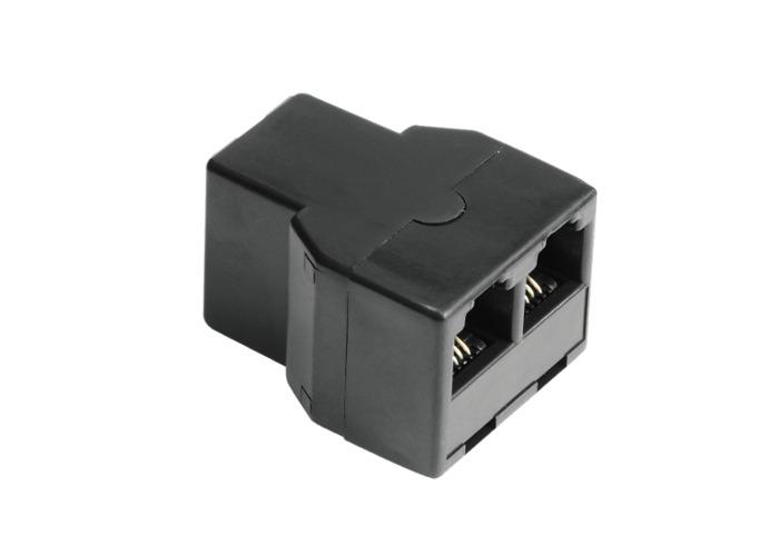 Hama Modular Splitter 6p4c Socket to 2x 6p4c Socket - 1