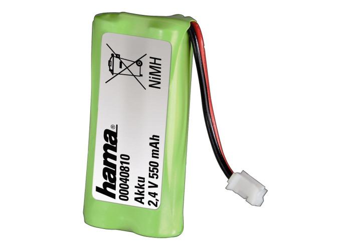 Hama NiMH Battery Pack 2.4V/550mAh for Siemens Gigaset - 1