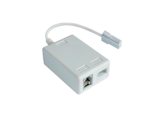 Hama Telephone ADSL Filter White (UK) - 1