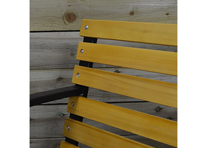 Hamble Redwood BB-FC121 2-Person Wooden Garden Bench - 2