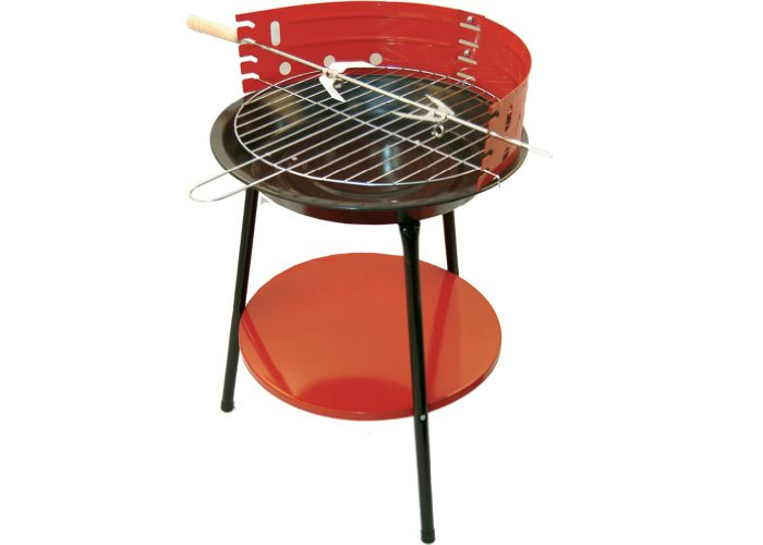 Hamble Redwood Leisure 14-inch Round Barbeque - 1