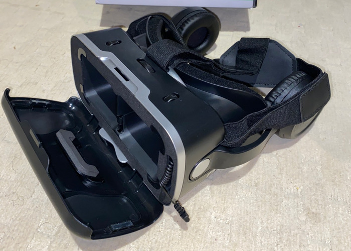 Hamswan Virtual Reality Headset for phones - 2