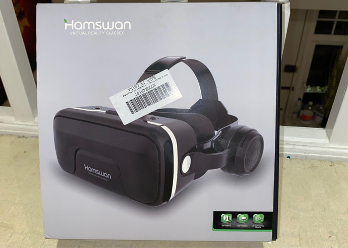 Hamswan Virtual Reality Headset for phones - 1