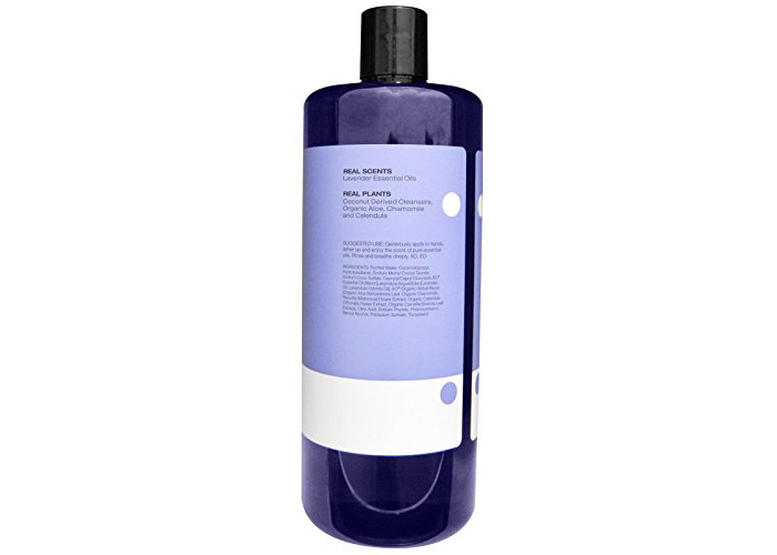 Hand Soap, Refill, French Lavender, 32 fl oz (946 ml) - EO Products - 2