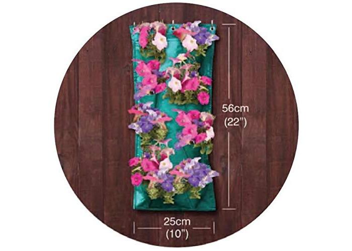 Hanging Herbs & Flowers Grow Bag Garland Flower Sleeve Growing out Door Garden - 1