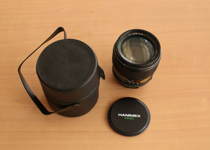 Hanimex 135mm F/2.8 With Minolta Mount - 1