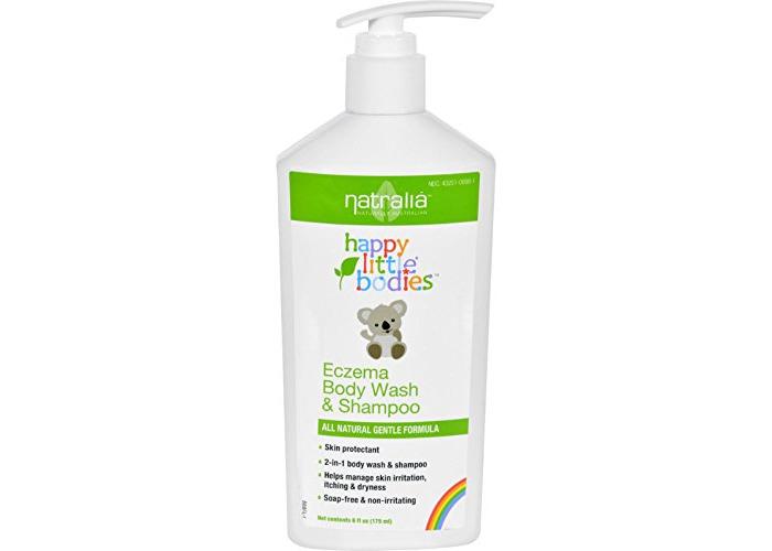 Happy Little Bodies Eczema Body Wash and Shampoo Natralia 6 Ounces by Happy Baby - 1