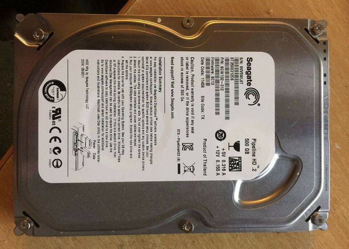 SEAGATE PIPELINE HD 2 500GB WINDOWS 8.1 DRIVER
