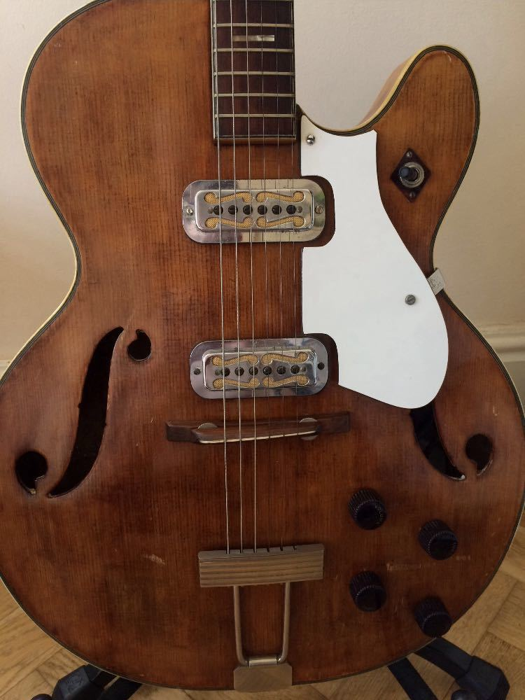 Harmony Meteor 1964 Guitar - 1