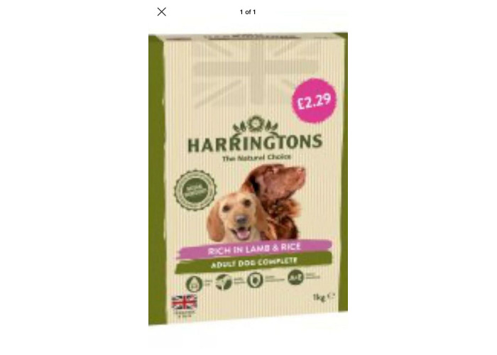 Harringtons Lamb & Rice 2. 29 1kg X 5 Packs Full Case - 1
