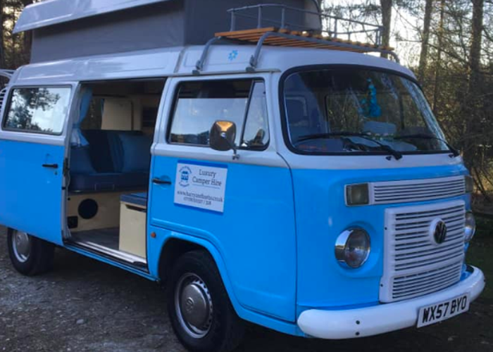Barbara - Blue VW Campervan - 1