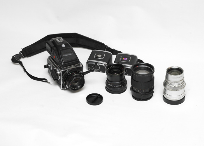 Hasselblad 203FE  with 60mm, 80mm and 110mm f/2 Lenses medium format camera - 1