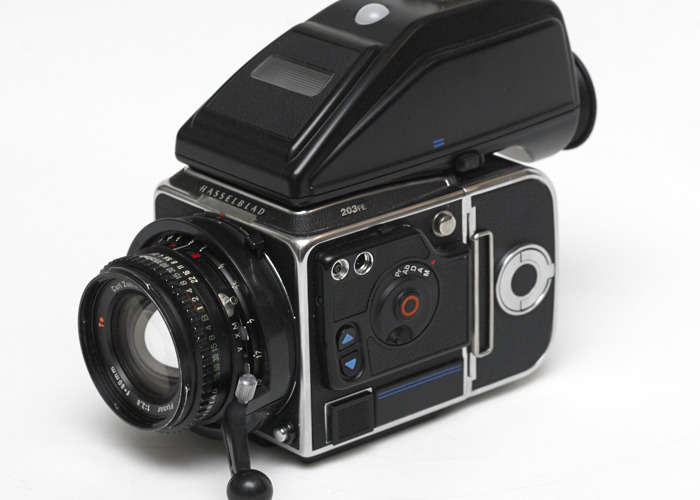 Hasselblad 203FE  with 60mm, 80mm and 110mm f/2 Lenses medium format camera - 2