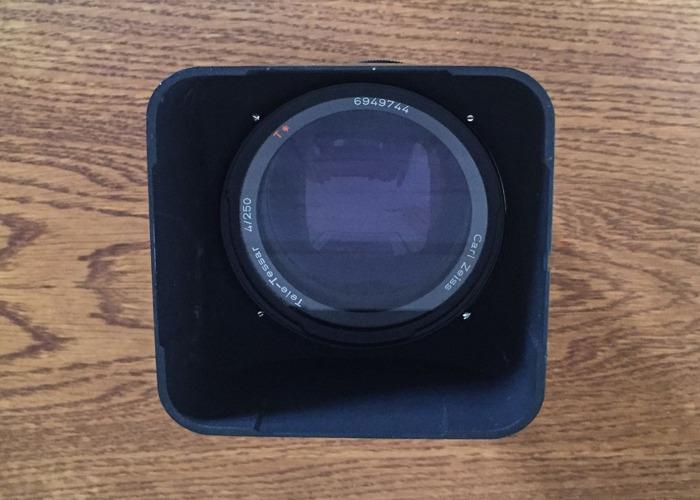 Hasselblad 250mm. Tele-Tessar f/4 T* Telephoto Lens - 2