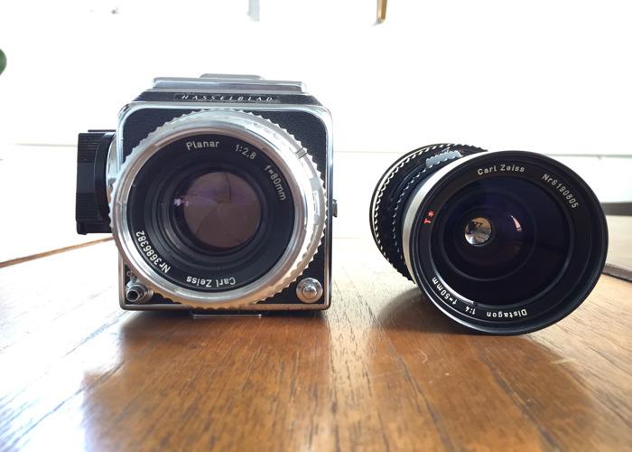 Hasselblad 500c Plus Lenses - 1