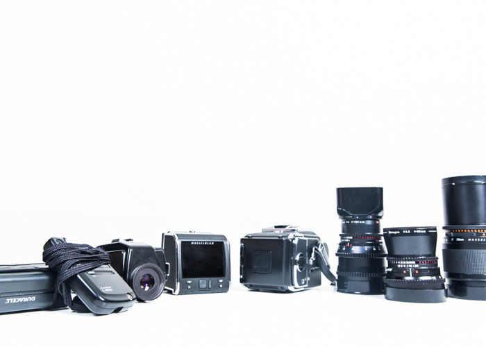 Rent Hasselblad 500CM w  CFV-50 digital back3 Carl Zeiss lenses in Bristol