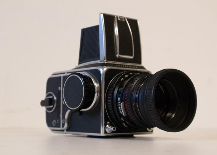 Hasselblad C500 Medium Format with operator - 1