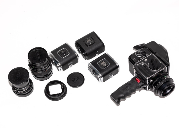 Hasselblad Kit for shooting 645 6x4.5 with backs 500 203  - 1