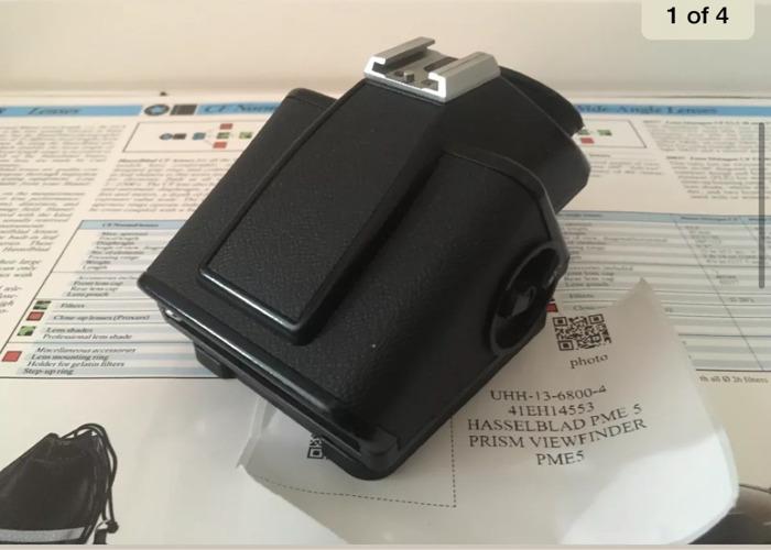 Hassleblad 503CX Black + PME5 Meter Prism Finder - 2
