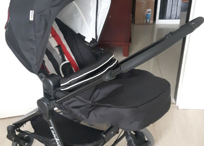 Hauck London All in One Travel System - Rainbow Black STOLLE - 2